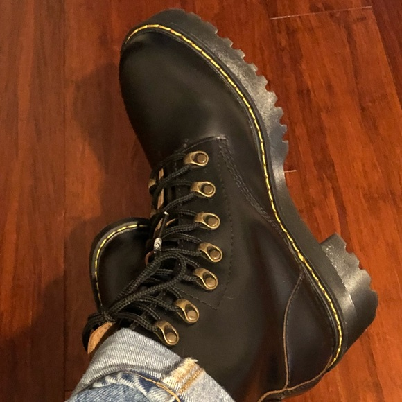 d706bfb99a Dr. Martens Shoes | Dr Martens Leona 7eye Hiker Boots | Poshmark
